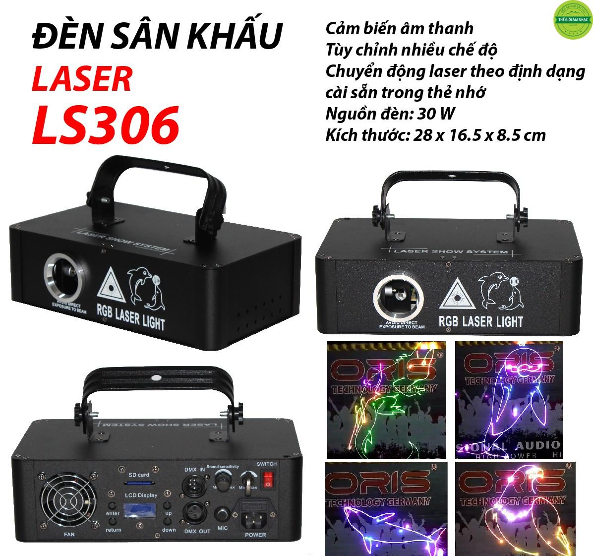 LASER SÂN KHẤU LS 306