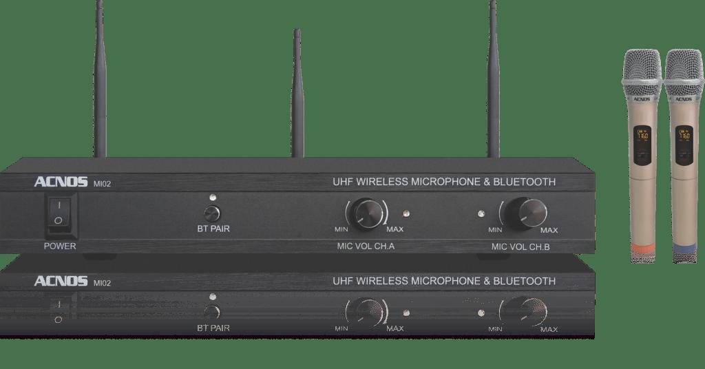 Acnos MI02 – Micro kiêm đầu thu Bluetooth , đầu phát nhac