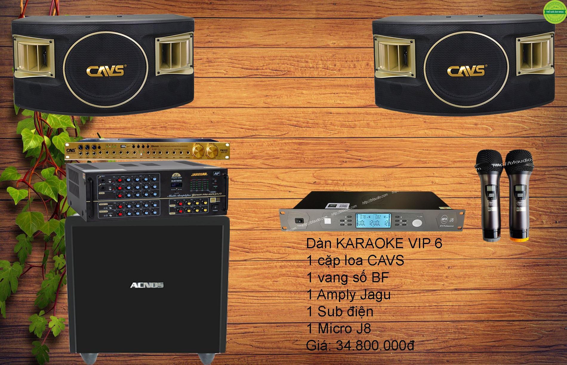 Dàn karaoke gia đình hot 2020