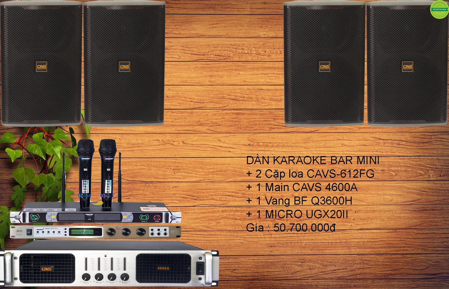 Dàn âm thanh Bar mini giá rẻ