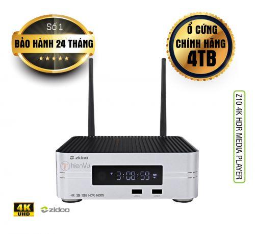 Đầu Karaoke cao cấp ZIDOO Z10 – Smart TV Box
