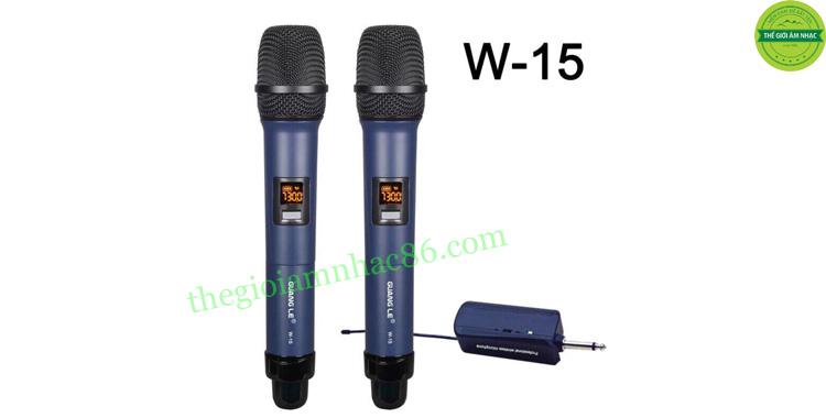 Micro không dâyGuangle W15