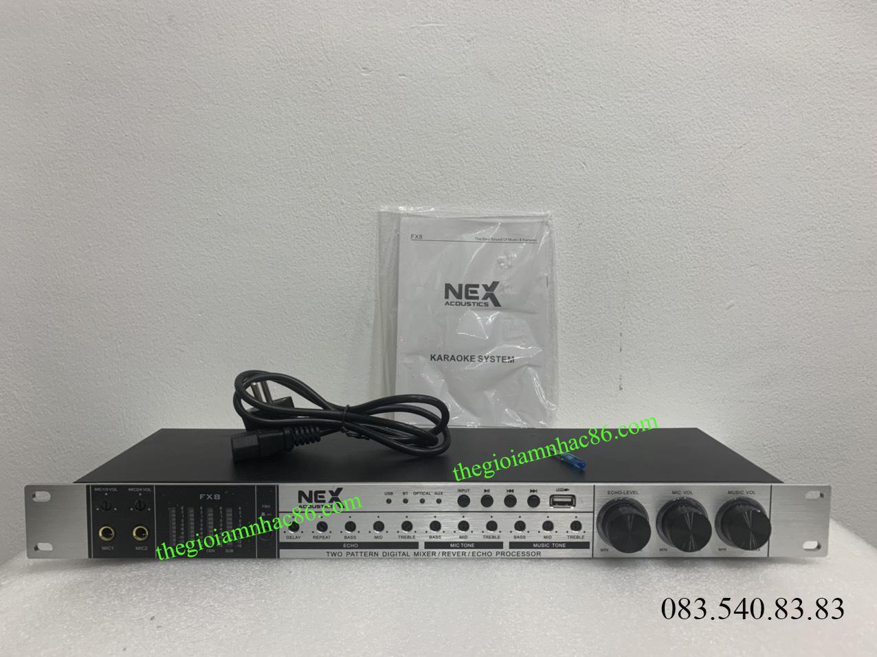 MIXER NEX FX8