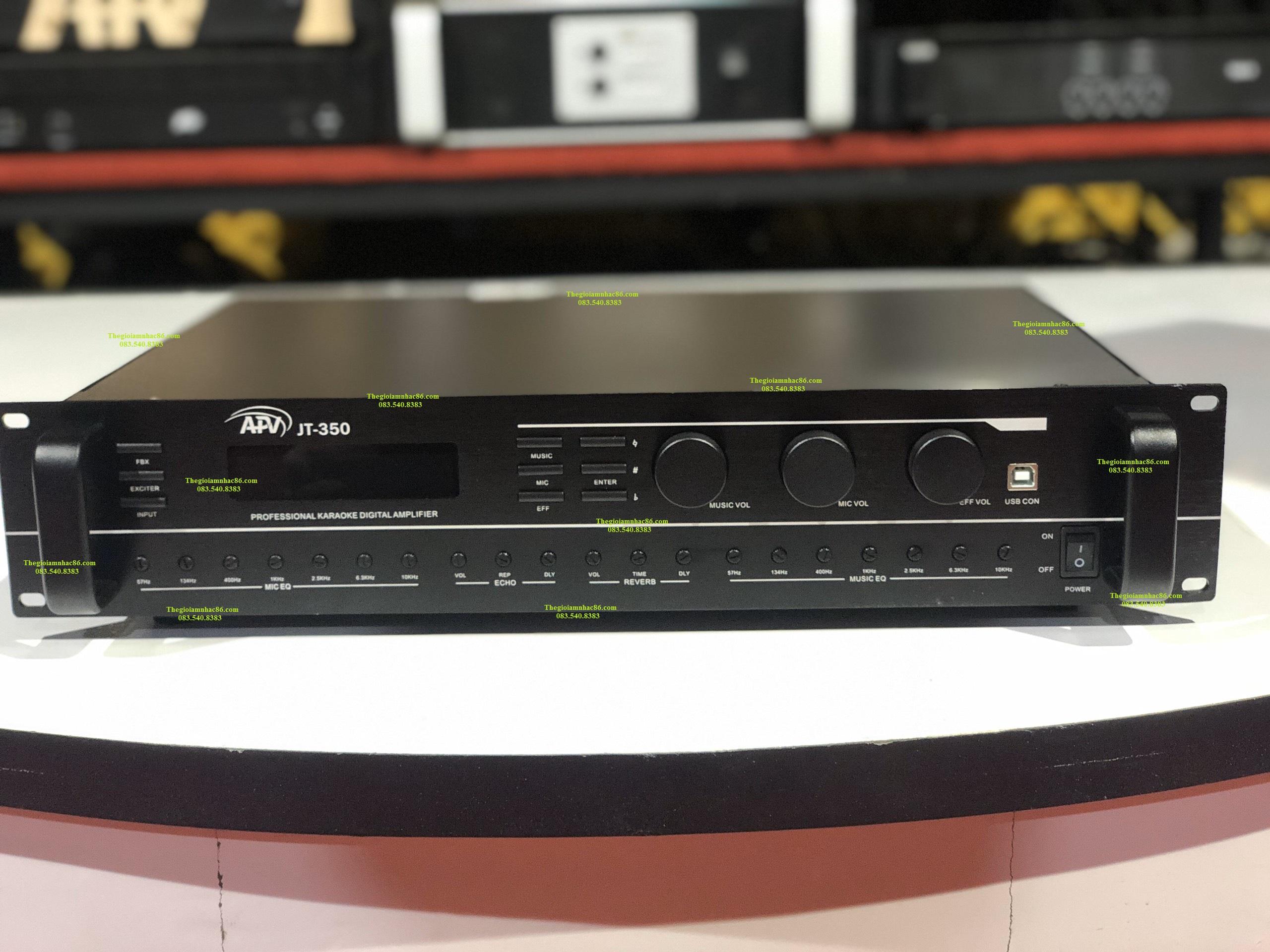 Amply kỹ thuật số APV JT 350