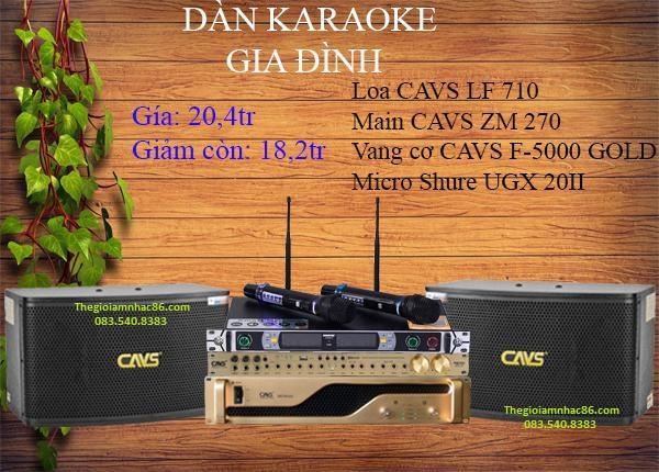 Dàn karaoke giá rẻ 1X