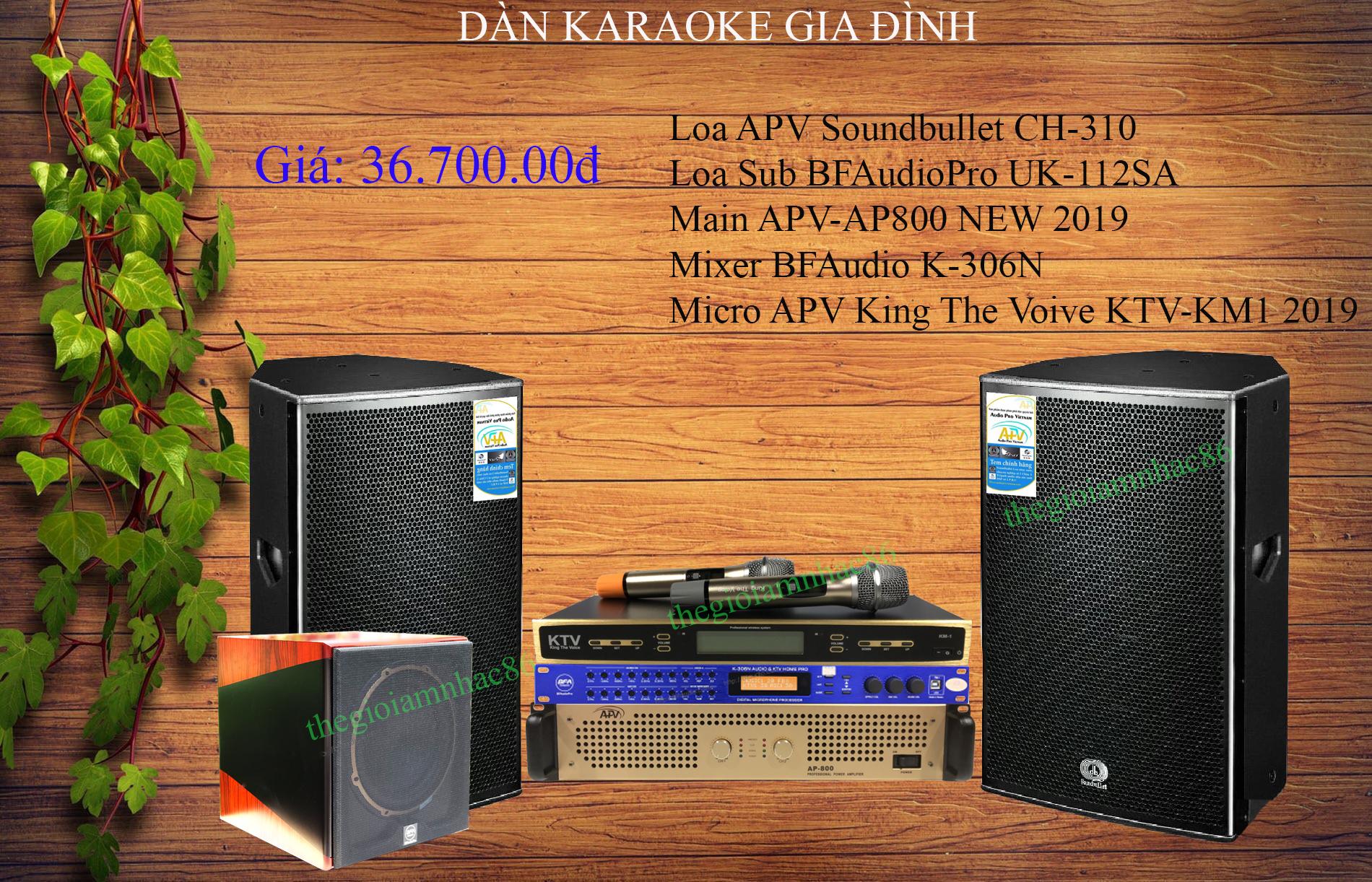 Dàn Karaoke Gia Đình xu hướng 2020