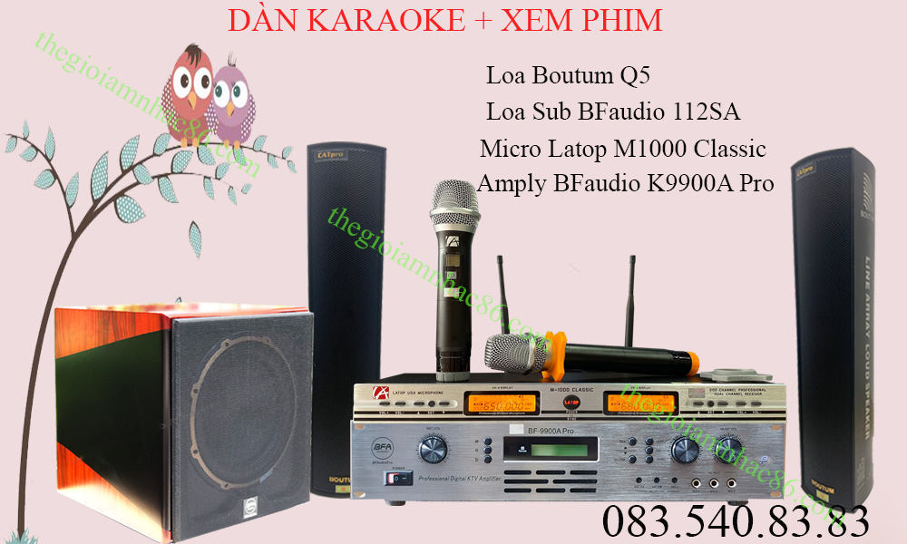 +20 Dàn karaoke gia đình 2020