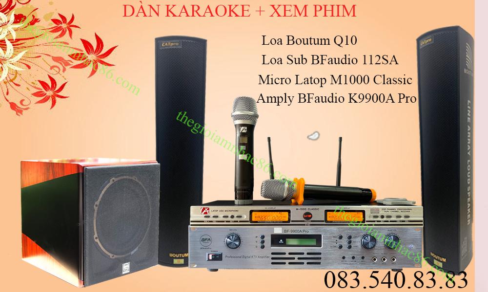 Dàn karaoke công nghệ mới nhất hiện nay (2020)