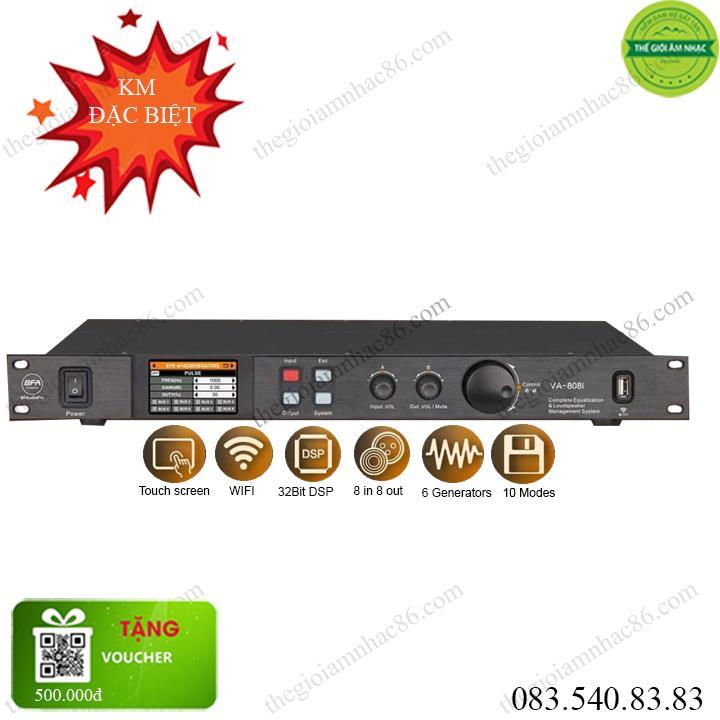 BFAudioPro VA-808i mixer cao cấp 2020