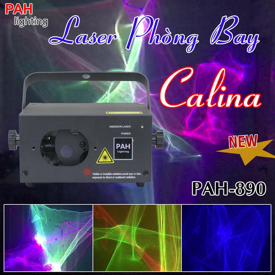 PAH-890 Đèn Laser Bay phòng 3D Calina mới nhất cho Karaoke VIP
