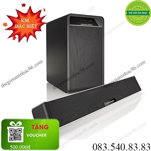 ACOUSTIC ENERGY AEGO 3 SUBWOOFER & SOUNDBAR