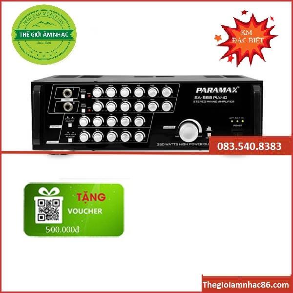 Paramax SA 888 PIANO NEW-Amply hay giá rẻ