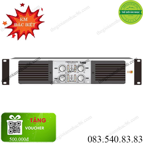 Cục đẩy công suất SAE FamouSound 7406