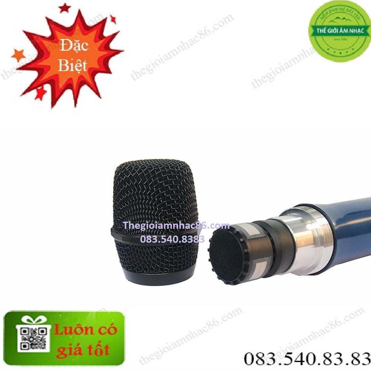 Micro không dâyShure BLXC9