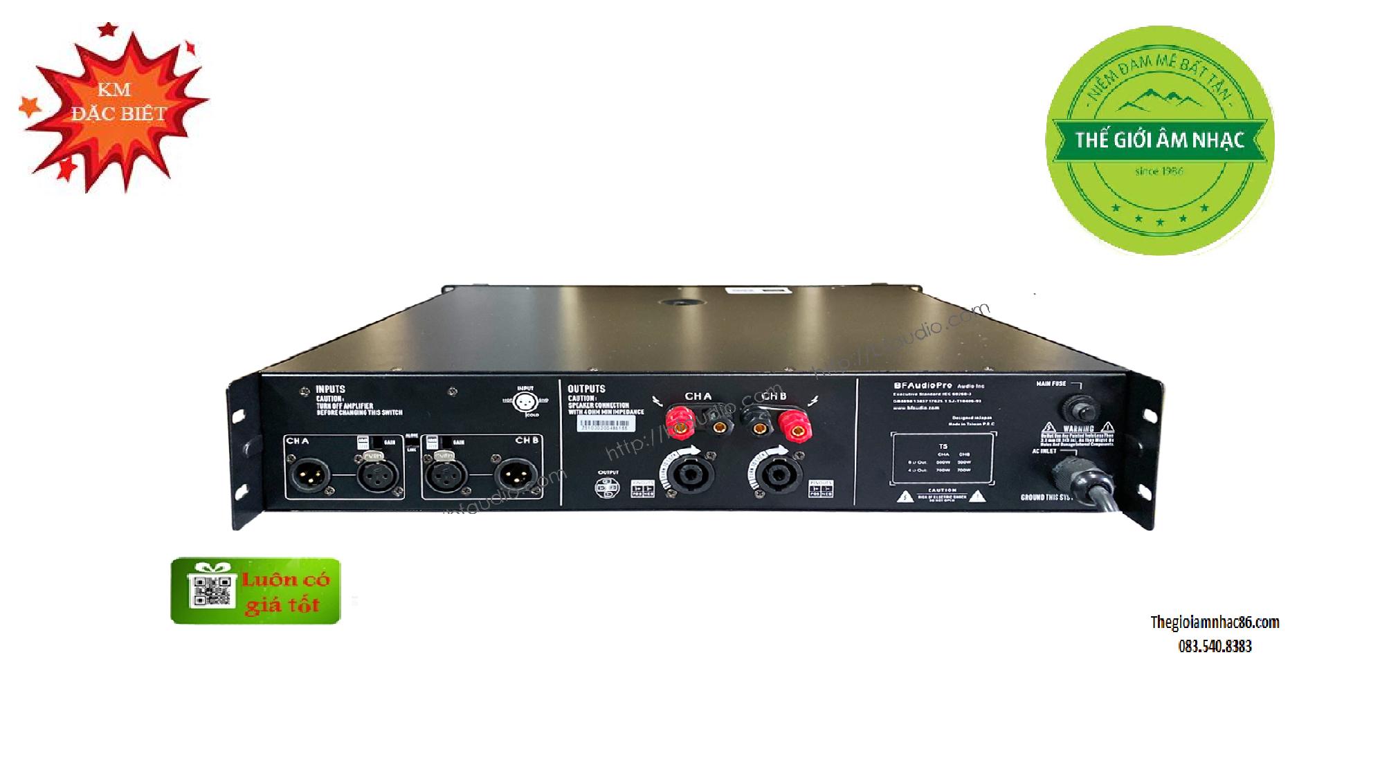 BFAUDIO T5 Main 2 kênh cao cấp giá rẻ