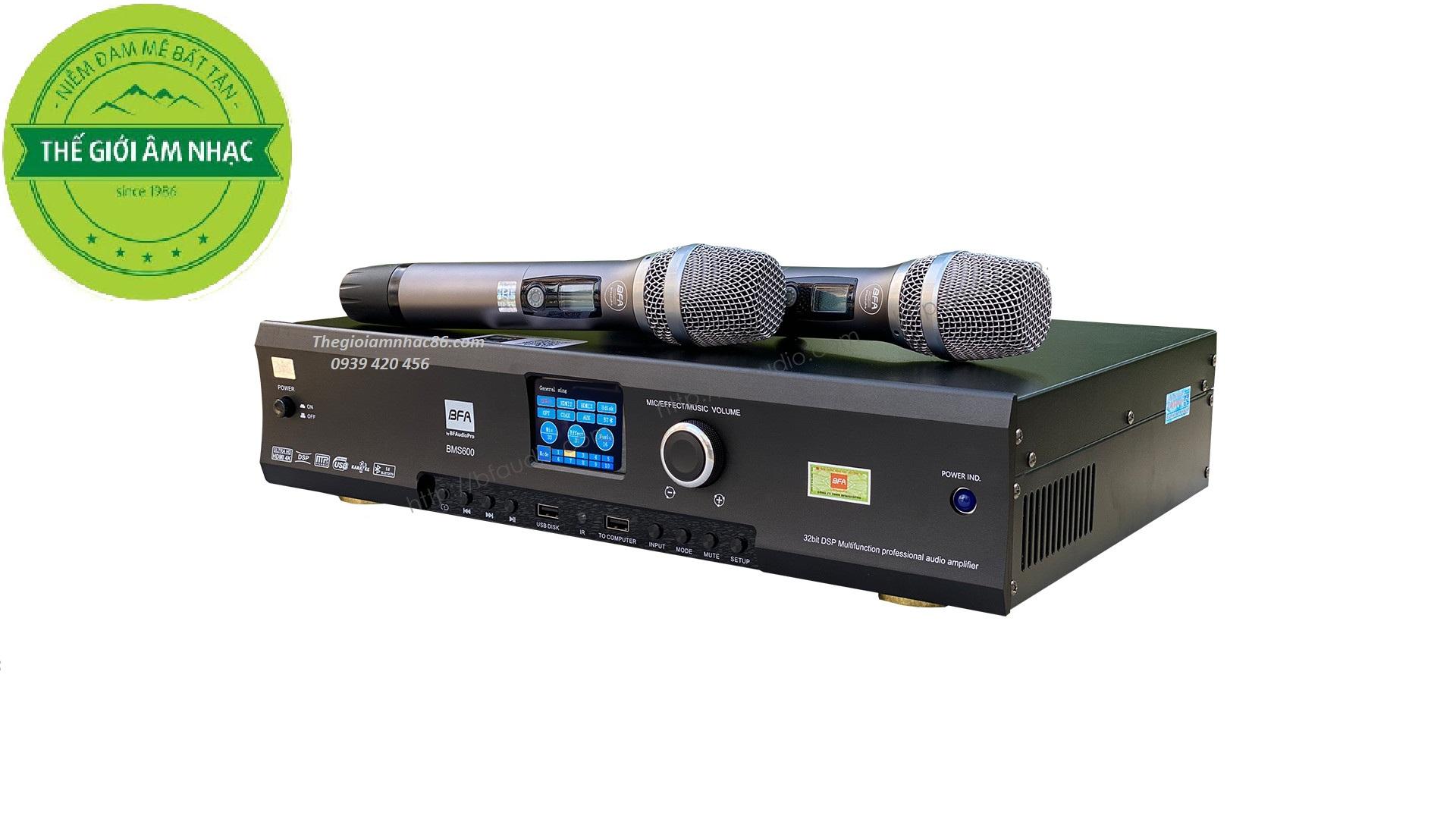 BFAUDIOPRO BMS600 Ampli đa năng 6 in 1