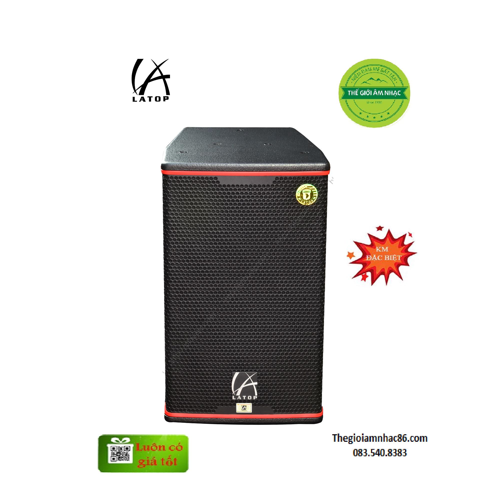 LATOP LV8012 – Loa cao cấp thương hiệu Mỹ